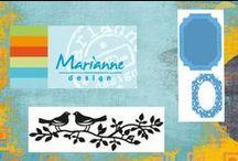 Marianne Design / Ideeën ter inspiratie voor het werken met de vele producten van Marianne Design (mallen, stempels, designpapier, decoratiematerialen en meer).