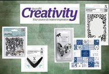 Docrafts Creativity / Ideeën voor de verschillende collecties van Docrafts Creativity.