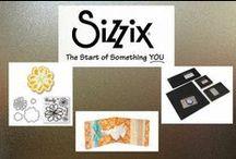 Sizzix / Ideeën gemaakt met hoofdzakelijk producten van Sizzix.