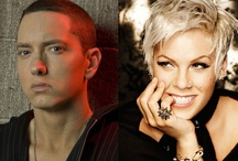 Eminem & P!nk / by April Haskins DeLean