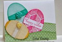 Stampin' Up! Easter Projects / Cards and gifts for Easter - All are made with Stampin' Up! products.