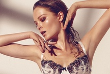 Spring/Summer 13 Lingerie Trends - Art of Refinement / Monochrome colour palettes, vintage inspiration and sumptuous detailing provide a sensual counterpoint to this season's fun, girly side...