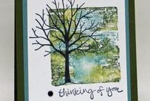 Stampin' Up! Sympathy/Thinking of You Cards / Sympathy and Thinking of You cards made with Stampin' Up! products.