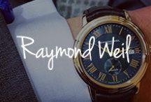 RAYMOND WEIL / A beautiful assortment of Swiss timepieces from RAYMOND WEIL.