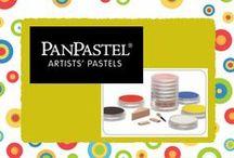 PanPastel / Uitleg over en ideeën voor het gebruik van Panpastels, pastelkrijt.