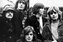 Pink Floyd / One of the very best bands...ever.  Pink Floyd:  Syd Barrett, Roger Waters, Nick Mason, Rick Wright, David Gilmour.  / by Virginia Mott