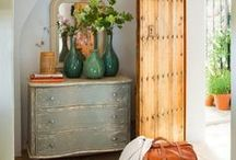 Home | F O Y E R / Foyer and entryway design, decor, and furniture.