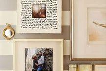 Home Decor | W A L L• A R T / Wall art, gallery walls, wall paper, wall decor ideas & inspiration.