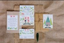 Wedding Invitations & Stationary / Letter Press, pretty paper and different invitations, stationary and wedding paper art