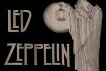 Led Zeppelin / Led Zeppelin : Robert Plant, Jimmy Page, John Bonham, John Paul Jones. / by Virginia Mott