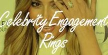 Celebrity Engagement Rings / Photos of your favorite celebs rocking their hottest bridal bling!