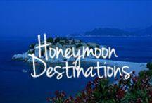 Honeymoon Destinations / Dream getaway destinations