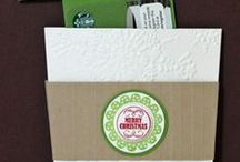Gift Card Holders / Ideas for gift cards whether it is a holiday or other special occasion.
