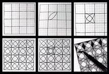 Zentangle, Doodle / Zentangle, Zendoodle, Doodle, Mandala ... Technieken met 1 doel, tot rust komen. Patronen, voorbeelden en ideeën ter inspiratie verzamelen wij op dit bord.