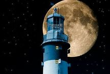 Lighthouses, safe haven and mysterious.