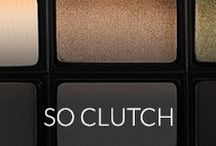 so clutch / The gang's all here! Get to know our BeautyClutch collection featuring customizable eye and cheek palettes!