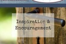 Inspiration & Encouragement / A dose of inspiration and encouragement  http://www.wholeintentions.com