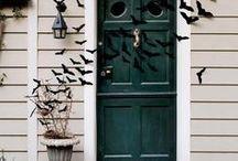 Halloween Deko für Haustür