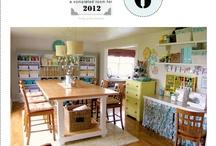 Dream craft/sewing room / by Barbara Olm