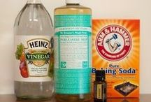 Housekeeping / Make your own natural cleaners and other recipes for household products using less-harmful ingredients.