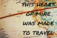 """Wanderlust / """"Um forte desejo de viajar, de explorar o mundo."""" Lugares onde já fui, onde estou ou irei!  / by Ludmila Braz"""