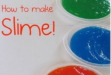 Oobleck, slime, goo, and everything squishy! / Lots of ways to make and play with goop, flubber, and related gooey materials.