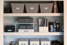 Organization / organization | organized | storage | DIY | how to | build | home | containers | organize | crafts | time saving | Konmari | Marie Kondo | tidy | cleaning | minimalist | stuff | supplies | make | shelves | feng shui