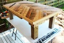 Homemade Furinture Ideas / by Tiffany Souder