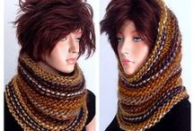 Cowls & Neckwarmers / Beautiful hand knit accessories.