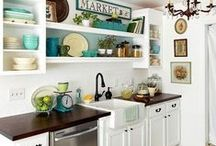 Kitchen / Organization and decor ideas for a functional and pretty kitchen