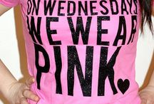 On Wednesdays we wear pink / by Erica Tait