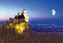 Republic of SAN MARINO / The 5th smallest country in the world, bound by Italy and the Adriatic. The capitol city is San Marino.