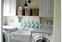 Laundry Room / Laundry room decor and organization.