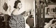Genius Women And Their Artwork Throughout History / Artist that were forgotten or left unknown