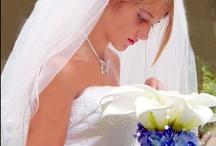 Designer Bridal Bouquets and Vintage Gowns / Bouquets and gowns from White River Bridal. / by Once Upon a  Time Wedding --Designer, Jan Barrett-Farren