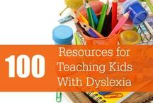 Homeschooling - Dyslexia / Tips and resources for homeschoolers with dyslexic learners.