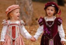 Fantasy Medieval Children / Fantasy Children of all ages and ranks / by Terry Sutherland