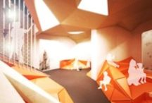 - ARCHITECTURE - school - / school environment , classroom, learning space / by Marine Bllt