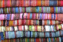 Textiles & Rugs / Woven textiles, linens and rug designs.