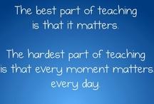 My Career- Teaching / by Kim Bounsom