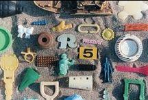 Beach Combing. / Sea Glass. Sea Secrets. Sea Gifts. Treasures From The Sea.