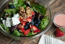 Salad, Salad, and More Salad Recipes / It's all about salad.