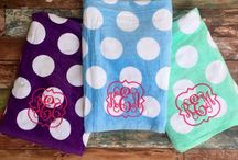 Monogrammed Gifts, Cheer Team Gifts, Bridesmaid Gifts / Monogrammed Gifts, Clothing, Accessories, and more!