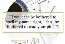 Confessions of an Editor / Tips on pitching and DIY PR from experts who like to share.