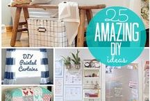 Crafty / Miscellaneous crafts and projects for personal and home