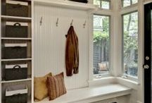 For the Home / Mostly home organization ideas, but possibly some decorating or room layouts