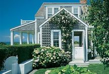 Beach cottage -my dream home / Top of my list is to have a cute cottage on an island or by the ocean