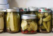 Preserving The Harvest / Can it. Freeze it. Dry it. Pickle it. Put it up.