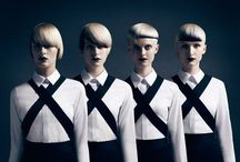 Futuristic style. / The fashion just seems so dark! I guess we will see! / by Roza Spaulding