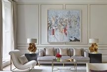 Living rooms / by Cindy Meador Interiors